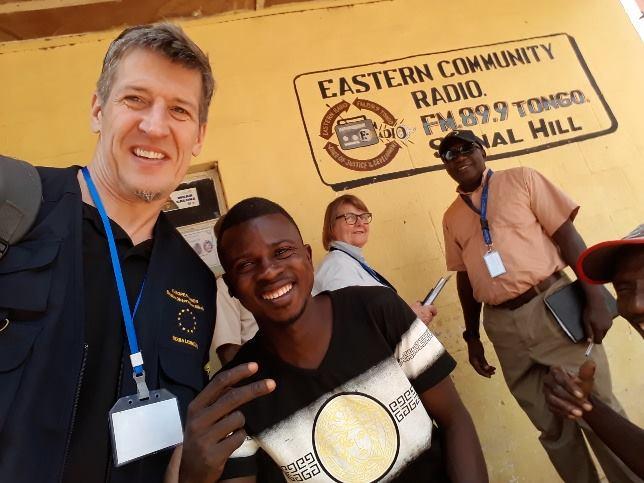 EU observers visit Eastern Community Radio