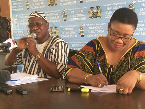 NEC press conference