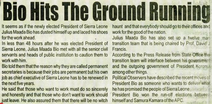 Salone Times 09042018